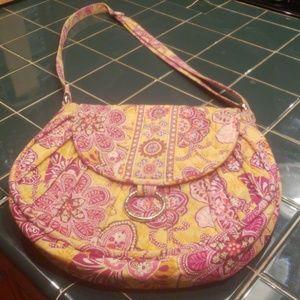 NWOT Vera Bradley shoulder bag converts to Xbody
